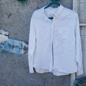 Universal thread goods co white collar shirt xxl